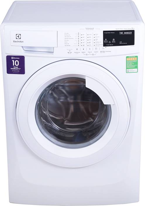 Electrolux 8 Kg Fully Automatic Front Load Washing Machine White