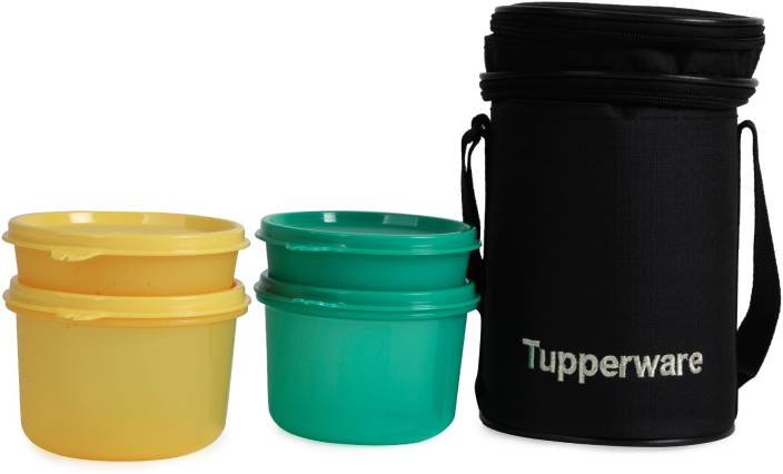 Tupperware Executive 4 Containers Lunch Box (1000 ml) 030d0590f251