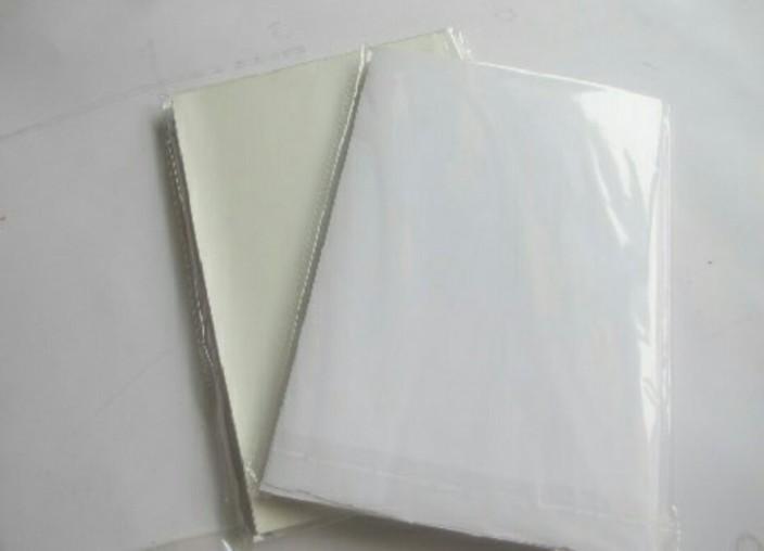 50Sheets White A4 PVC Matte Printable Self Adhesive Sticker Laser Printer Paper