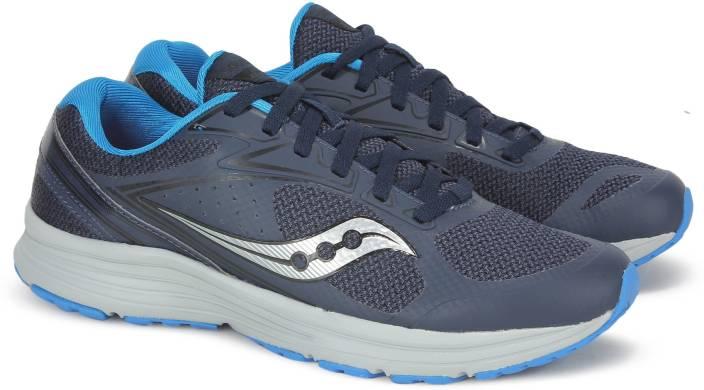 9ab2b6834fd6 Saucony GRID SEEKER Running Shoes For Men - Buy NVY BLK Color ...