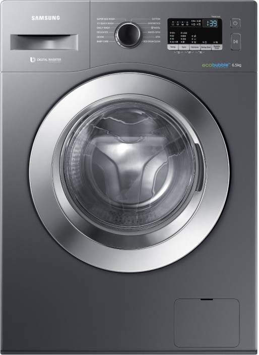 Samsung 6.5 kg Fully Automatic Front Load Washing Machine Grey