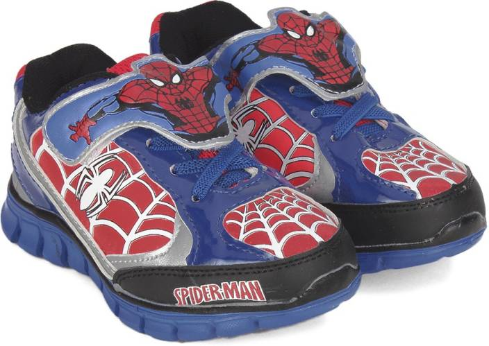 26d6337addda Spiderman Boys Velcro Walking Shoes Price in India - Buy Spiderman ...