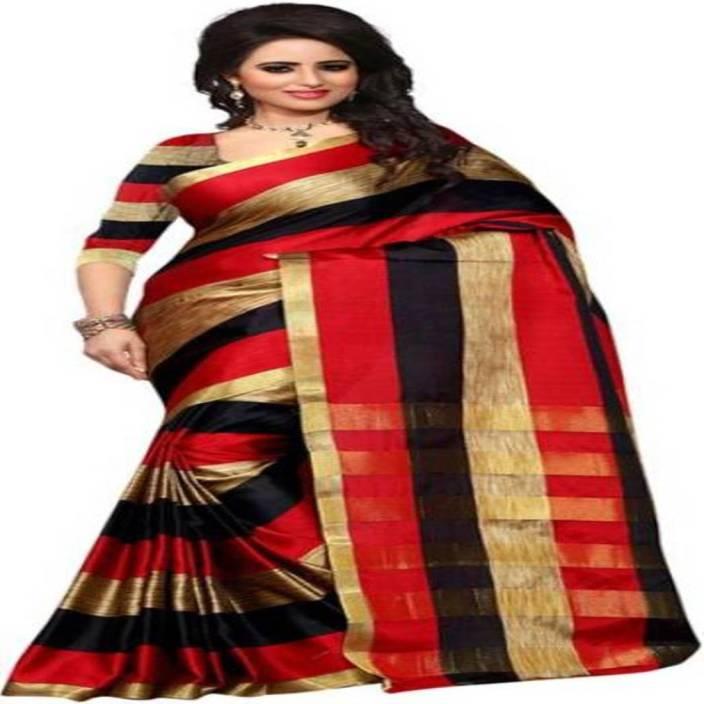 2ae62331fa5e0d Buy Radiance Star Printed Assam Silk Polycotton Multicolor Sarees ...