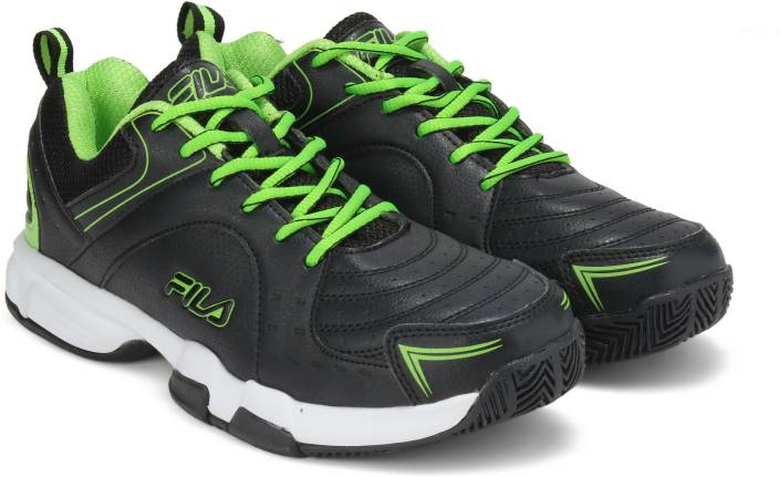 eb27910c6553 Fila BASELINE Badminton Shoes For Men - Buy Black Color Fila ...
