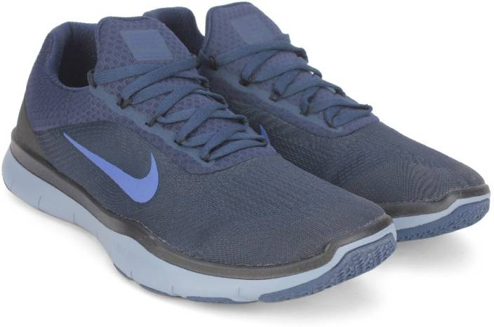 2bf08fda12ed Nike FREE TRAINER V7 Training Shoes For Men - Buy COLLEGE NAVY DEEP ...
