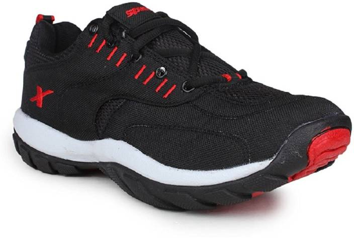 Sparx 100 % Original SM-113 Black red Sport Running Shoes For Men