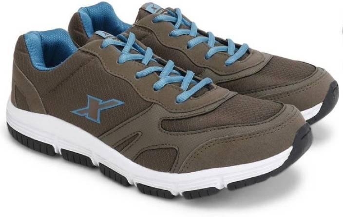 Sparx 100 % Original SM-205 camel Turquoise Sport Running Shoes For Men