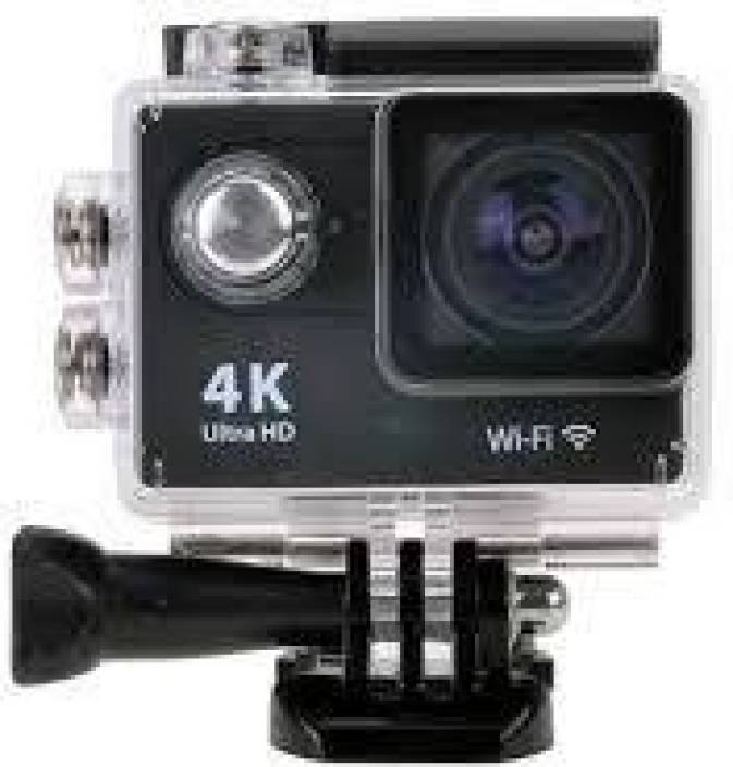 Totta H9 TOTTA 4K ULTRA HD 12 MP WATER PROOF ACTION CAMERA WITH WIFI Sports and Action Camera