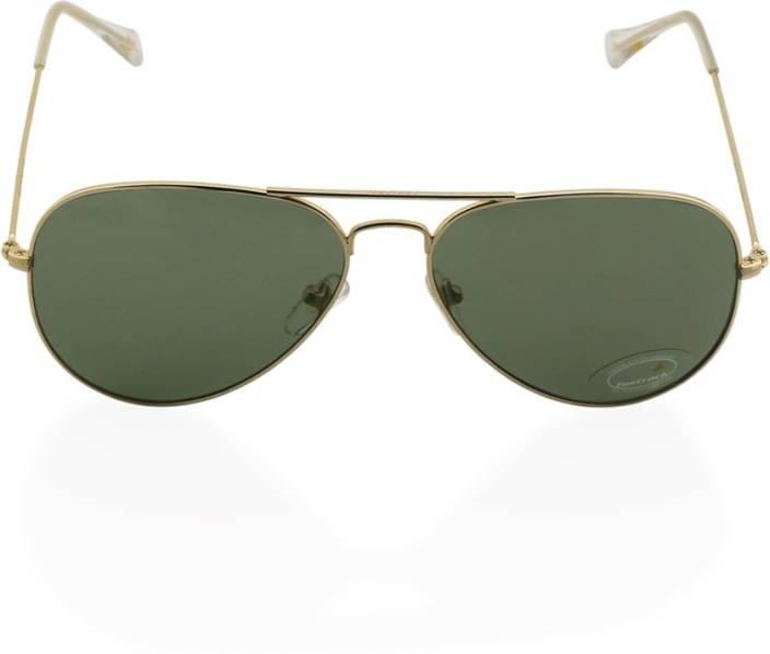 25fcb74ae8 Buy Fastrack Aviator Sunglasses Green For Men Online   Best Prices ...