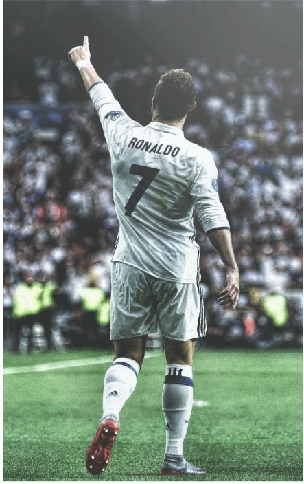 Poster Cristiano Ronaldo CR Football Soccer Star Room Art Wall Print 501