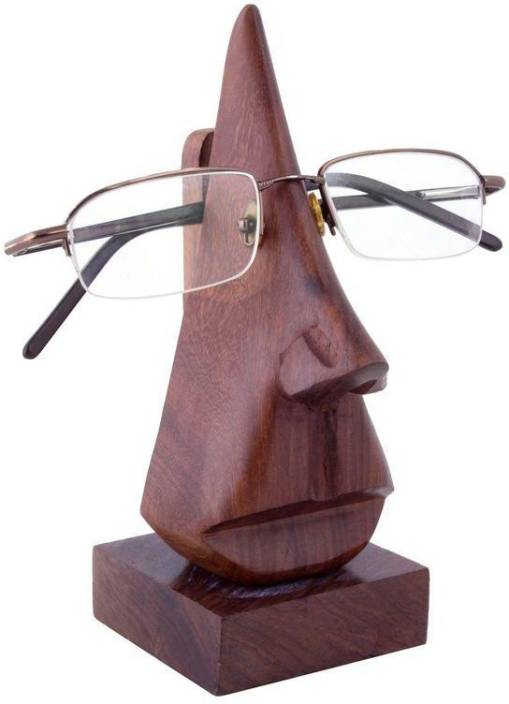 Craft Art India Specs Stand 1 Compartments Wooden Spectacle Holder
