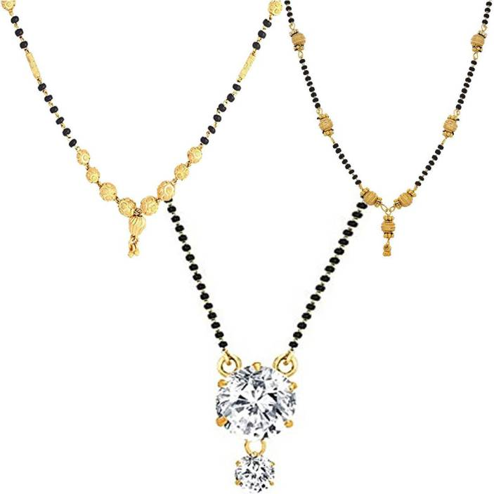 ce81797bff Zeneme Women's Pride Peacock Design Mangalsutra Combo with Chain for Women  Alloy Mangalsutra Price in India - Buy Zeneme Women's Pride Peacock Design  ...