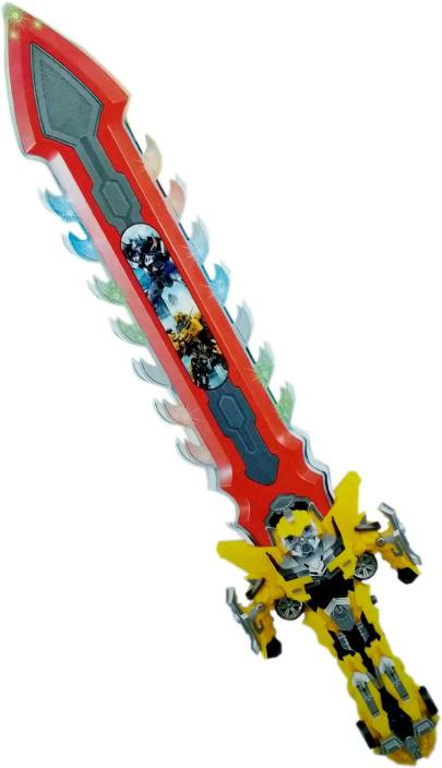 HALO NATION Transformers Bumblebee Battle SWORD with Light