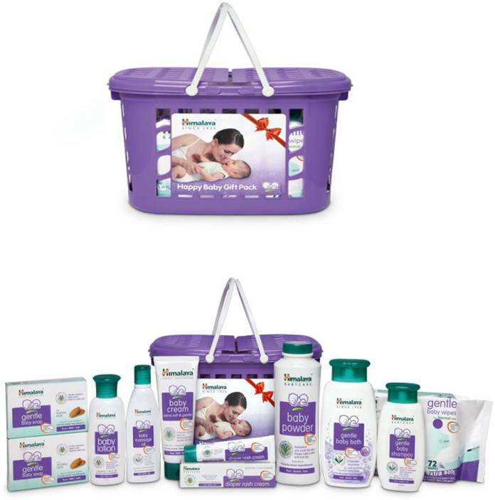 d0c07732510fb Himalaya MEGA Basket baby gift pack - | Buy Baby Care Combo in India ...