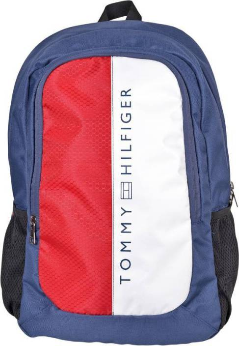 14384b63 Tommy Hilfiger HORIZON PLUS 24.5 L Backpack Blue - Price in India ...