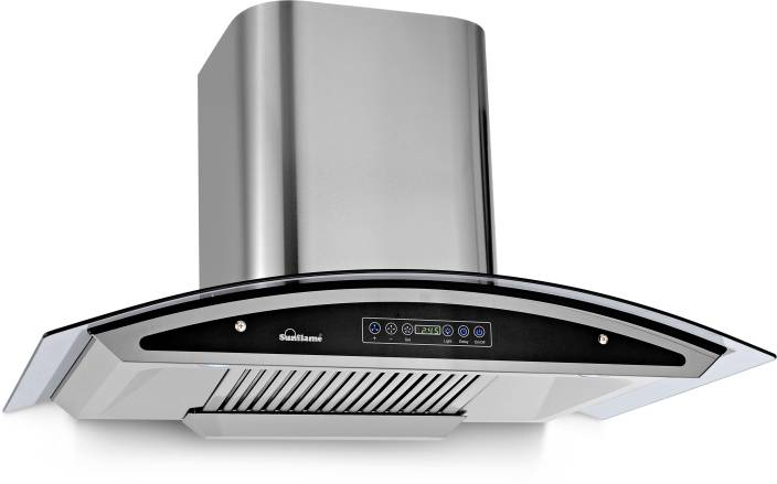 Sun Flame INNOVA 90 AUTO CLEAN Wall and Ceiling Mounted Chimney
