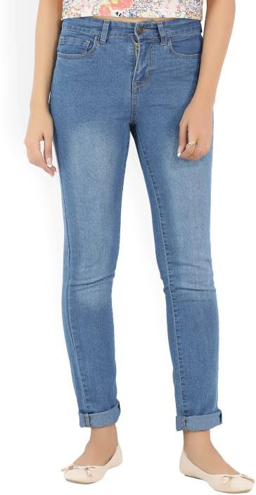 Provogue Slim Women's Blue Jeans