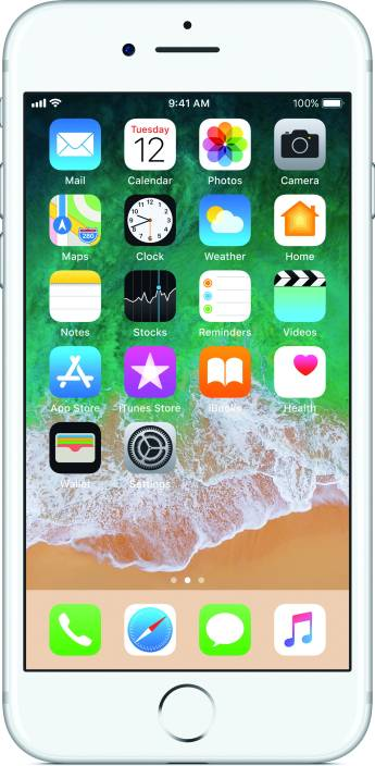 Apple iPhone 7 (Silver, 128 GB)
