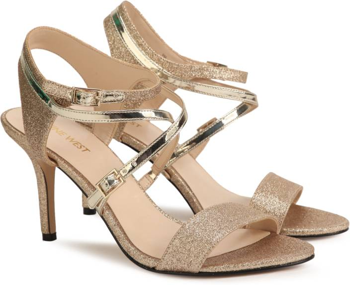3e964b1784bc Nine West Women GOLD Heels - Buy GOLD Color Nine West Women GOLD Heels  Online at Best Price - Shop Online for Footwears in India