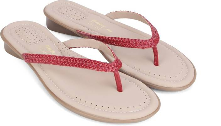 Bata Women Red Flats