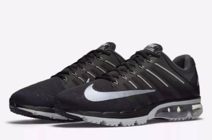 13ed061759 Nike AIR MAX EXCELLERATE 4 Running Shoes For Men - Buy BLACK/GREY ...