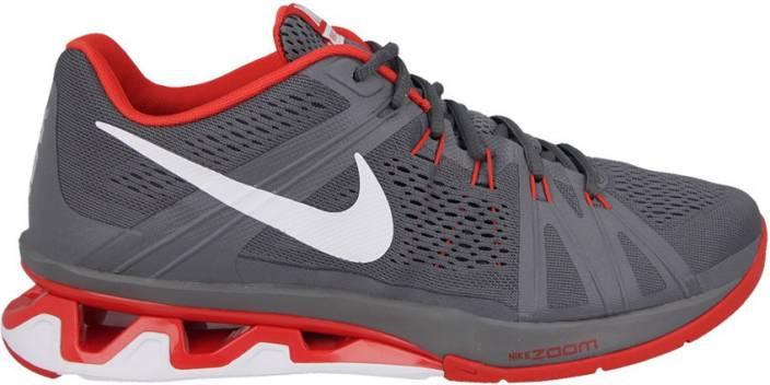 0bc1693800b9 Nike REAX LIGHTSPEED Training Shoes For Men - Buy Dark Grey Red ...