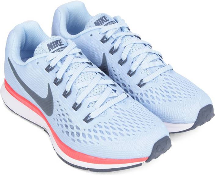 online store 8475e f115b Nike WMNS NIKE AIR ZOOM PEGASUS 34 Running Shoes For Women (Blue)