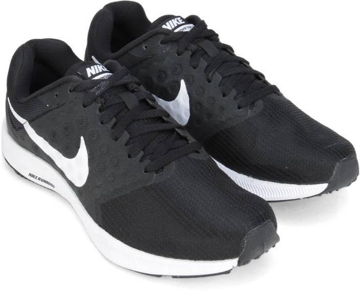bad894b217e Nike WMNS NIKE DOWNSHIFTER 7 Running Shoes For Men - Buy BLACK WHITE ...