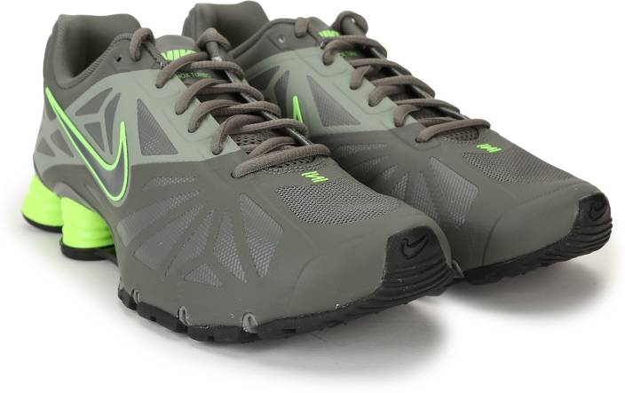 check out 1e7e9 e96ec Nike SHOX TURBO 14 Sneakers For Men (Green)