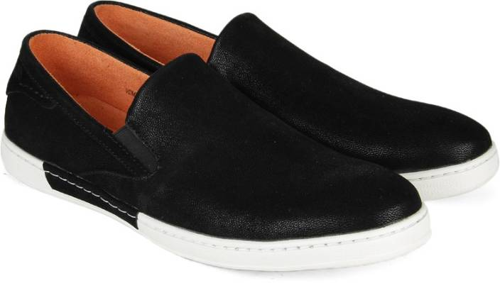 998695286c7aa9 V Dot Van Heusen Loafers For Men - Buy BLACK Color V Dot Van Heusen ...