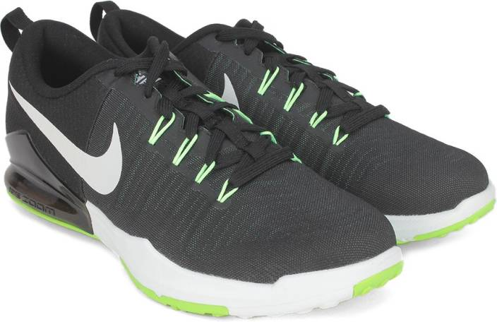 e491100d8a59 Nike ZOOM TRAIN ACTION Training Shoes For Men - Buy BLACK WHITE-VOLT ...