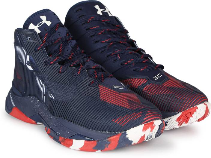 ddbe4c910ba Under Armour UA CURRY 2.5 Basketball Shoes For Men - Buy BLUE/WHITE ...