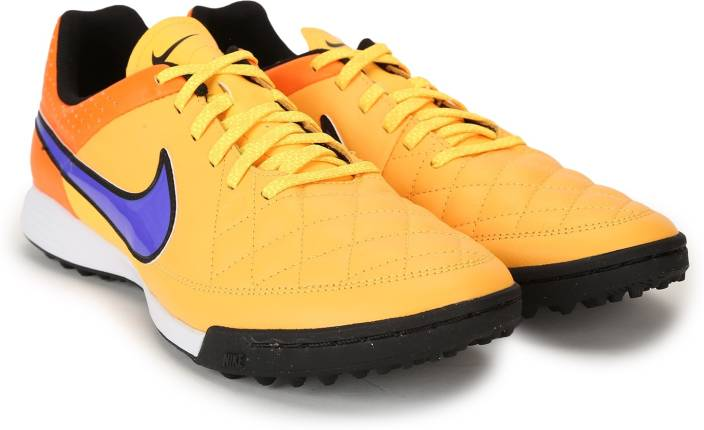 052b29a2da5cf Nike TIEMPO GENIO LEATHER TF Football Shoes For Men - Buy LSR ORNG ...