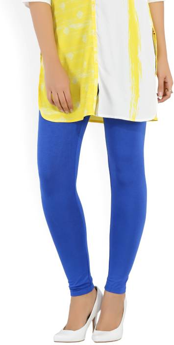 Aurelia Solid Women Blue Tights