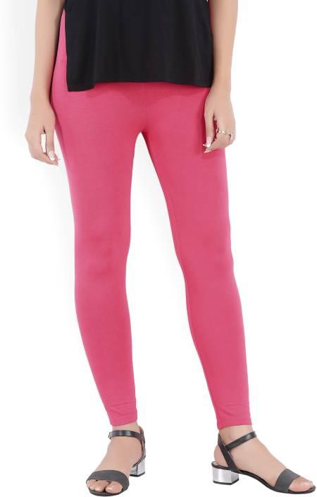 Aurelia Solid Women Pink Tights