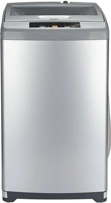 Haier 6.2 kg Fully Automatic Top Load Washing Machine Silver