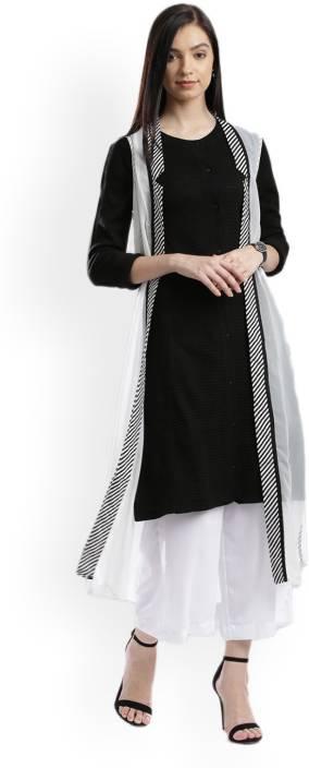 W Sleeveless Solid Women's Jacket