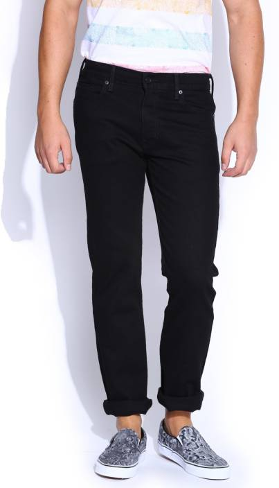 Levi's Regular Men's Black Jeans