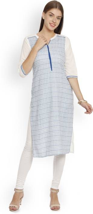 Aurelia Printed Women Straight Kurta