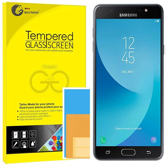 white panther Screen Guard for Samsung Galaxy J7 Max - white panther