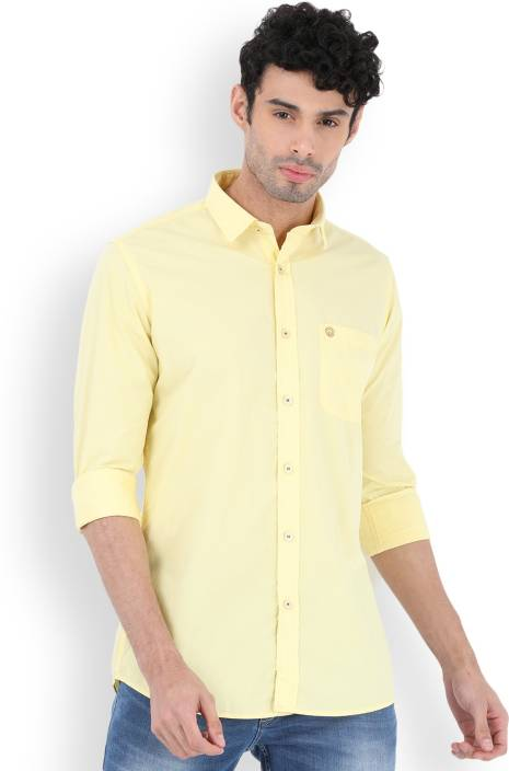 Integriti Men's Solid Casual Shirt