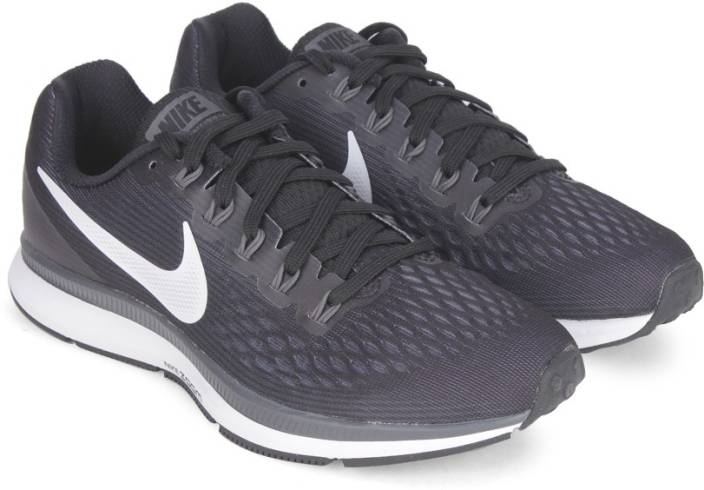 new product ccbdb fc978 Nike WMNS NIKE AIR ZOOM PEGASUS 34 Running Shoes For Women (Black)