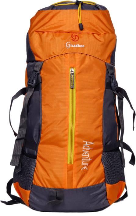 GRANDIOSE 50L Orange Hiking Backpacks and Rucksacks bags (GTB65001OR) Rucksack  - 50 L