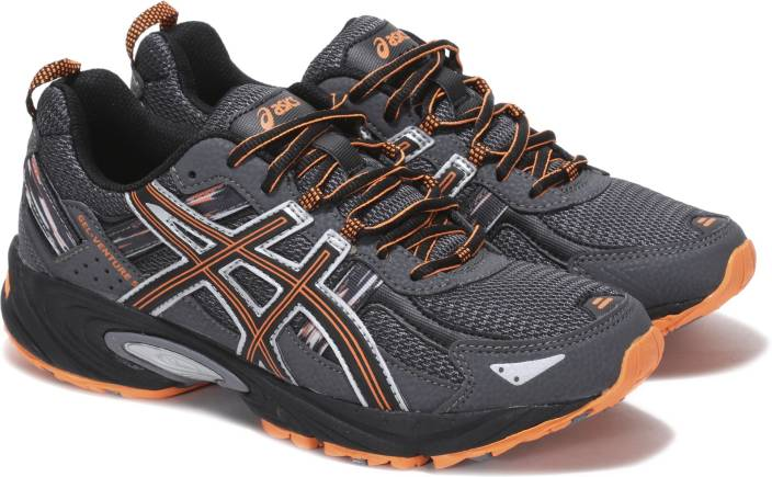 3ad54cb10a99 Asics GEL-VENTURE 5 Running Shoes For Men - Buy CARBON Color Asics ...