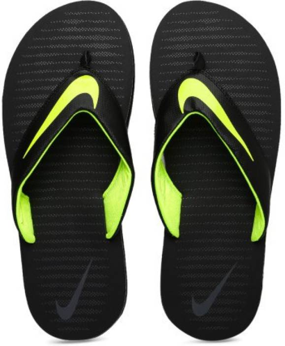 effe464815f9 Nike CHROMA THONG 5 Slippers - Buy BLACK VOLT-DARK GREY Color Nike CHROMA  THONG 5 Slippers Online at Best Price - Shop Online for Footwears in India  ...