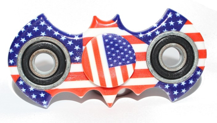AMERICAN FLAG Fidget Spinner  2018 high quality low price!!