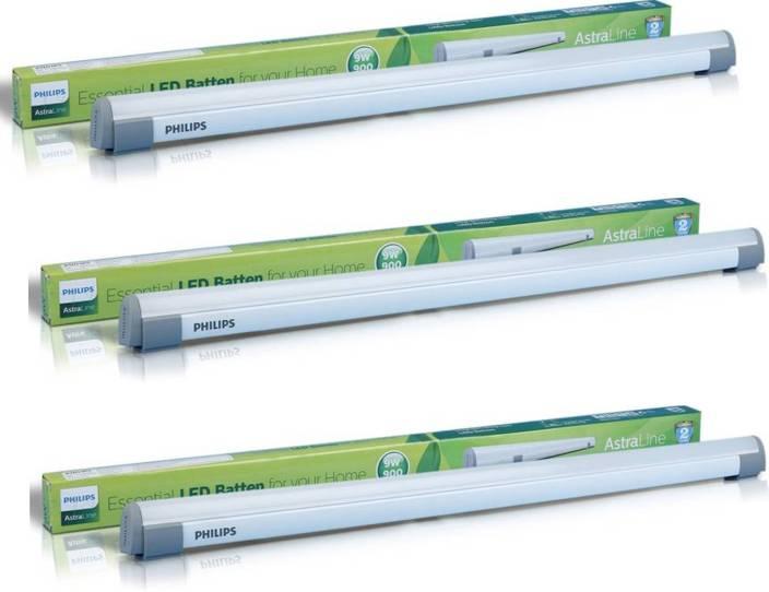 Linear Straight Light Tube 2 Philips 9w Feet Led n8wOP0k