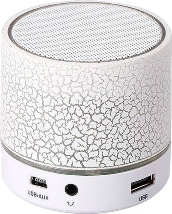KRAZZY INDIA S-08 Mini Led Light 3 W Bluetooth Speaker