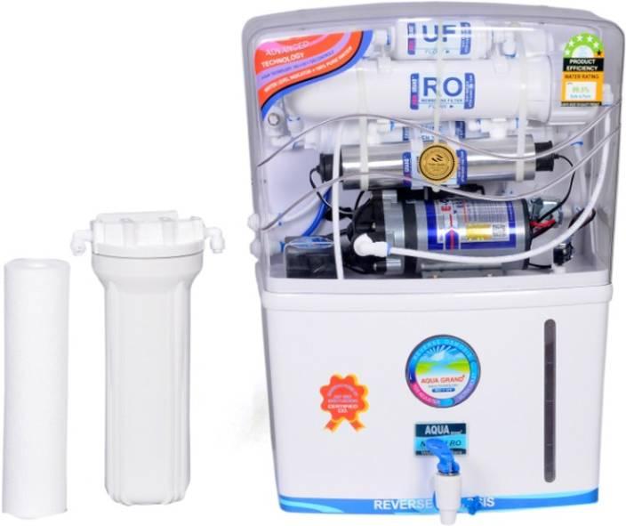 AQUA PURE RO Aqua grand plus 12 L RO + UV + UF Water