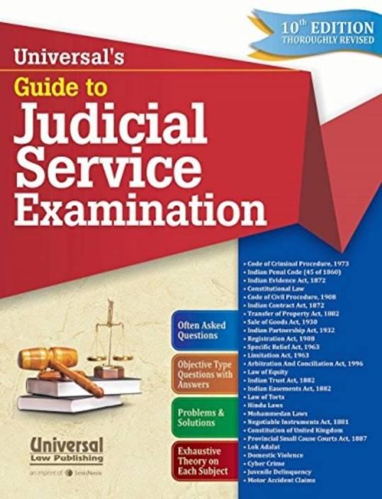 Universals Guide To Judicial Service Exam.